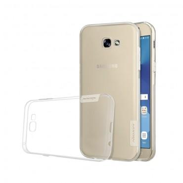"""Vékony """"Nature"""" prémium védőtok Samsung Galaxy A5 2017 készülékekhez - átlátszó"""