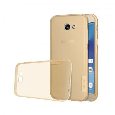 """Vékony """"Nature"""" prémium védőtok Samsung Galaxy A5 2017 készülékekhez – aranyszínű"""