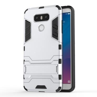 """Strapabíró """"Impact X"""" védőtok LG G6 készülékekhez – ezüstszínű"""