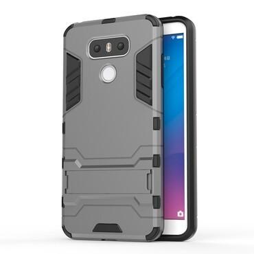 """Strapabíró """"Impact X"""" védőtok LG G6 készülékekhez – szürke"""