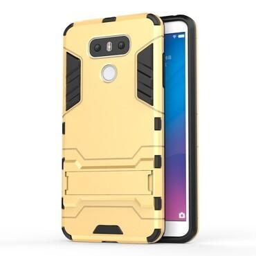 """Strapabíró """"Impact X"""" védőtok LG G6 készülékekhez – aranyszínű"""
