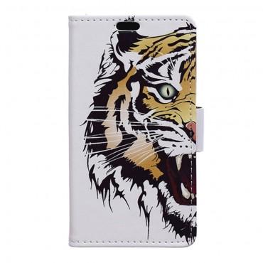 """Divatos """"Tiger"""" tárca LG G6 készülékekhez"""