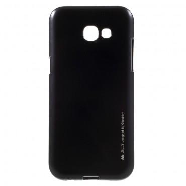 Goospery iJelly Case TPU géles védőtok Samsung Galaxy A5 2017 készülékekhez – fekete