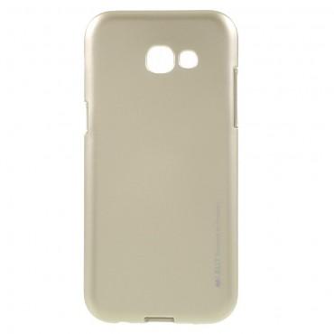 Goospery iJelly Case TPU géles védőtok Samsung Galaxy A5 2017 készülékekhez – aranyszínű