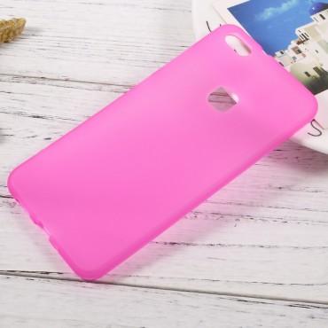 TPU gél tok Huawei P10 Lite készülékekhez - rózsaszín
