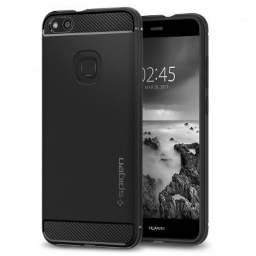 """Spigen """"Rugged Armor"""" védőtok Huawei P10 Lite készülékekhez – fekete"""