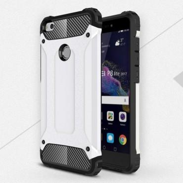 """Strapabíró tok """"Rock"""" Huawei Honor 8 Lite / P8 Lite 2017 készülékekhez - fehér"""