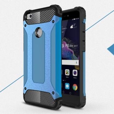 """Strapabíró tok """"Rock"""" Huawei Honor 8 Lite / P8 Lite 2017 készülékekhez - kék"""