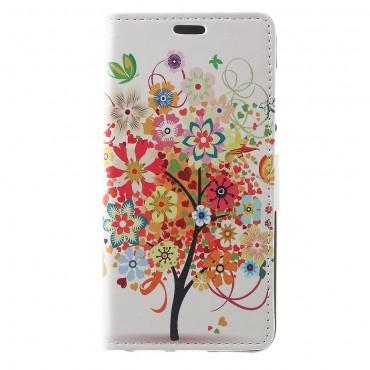 """Divatos """"Tree of Dreams"""" tárca Huawei Honor 8 Lite / P8 Lite 2017 / Nova Lite készülékekhez"""