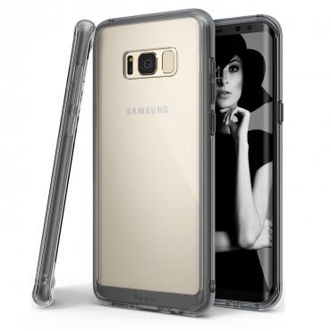 """Ringke """"Fusion"""" védőtok Samsung Galaxy S8 Plus készülékekhez - smoke black"""