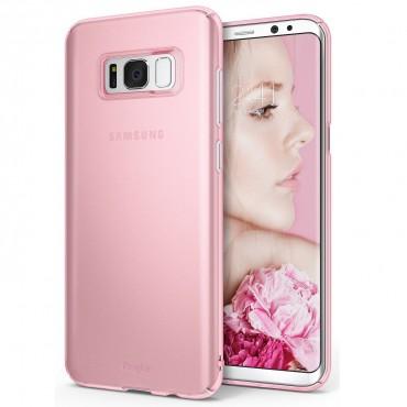 """Ringke """"Slim"""" védőtok Samsung Galaxy S8 készülékekhez – frost pink"""