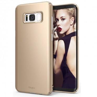 """Ringke """"Slim"""" védőtok Samsung Galaxy S8 Plus készülékekhez – royal gold"""