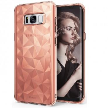"Ringke ""Air Prism"" borító Samsung Galaxy S8 telefonokhoz - rose gold"