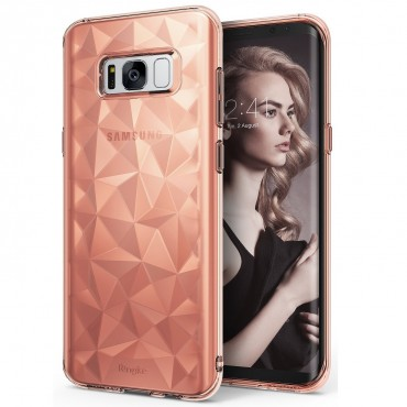 "Ringke ""Air Prism"" borító Samsung Galaxy S8 Plus telefonokhoz - rose gold"