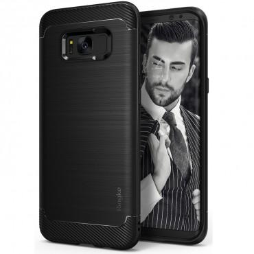 """Ringke """"Onyx"""" védőtok Samsung Galaxy S8 Plus készülékekhez – black"""