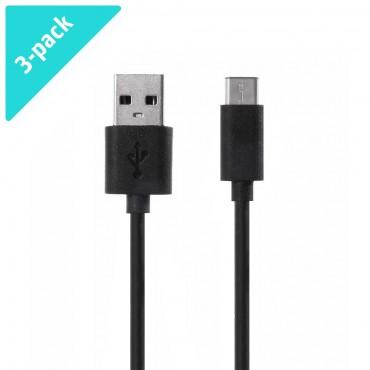 3-Pack USB-C – USB Xiaomi töltő- és adatkábel