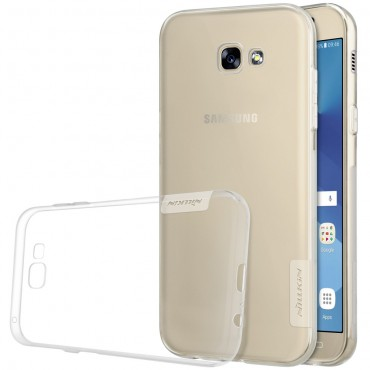 """Vékony """"Nature"""" prémium védőtok Samsung Galaxy A3 2017 készülékekhez - átlátszó"""