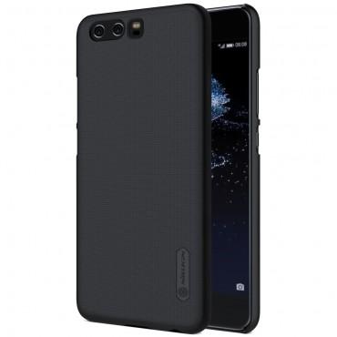 Super Frosted Shield prémium védőtok Huawei P10 készülékekhez – fekete