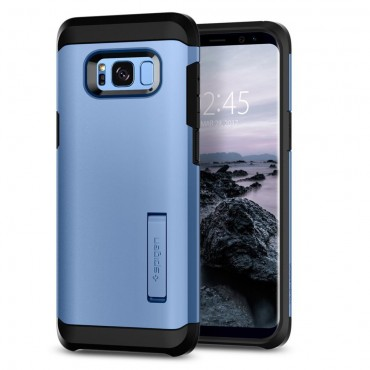 """Spigen """"Tough Armor"""" védőtok Samsung Galaxy S8 készülékekhez – blue coral"""