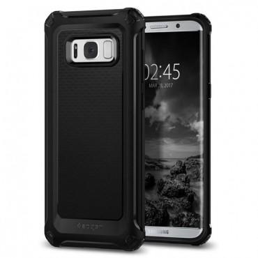 """Spigen """"Rugged Armor Extra"""" védőtok Samsung Galaxy S8 Plus készülékekhez – fekete"""