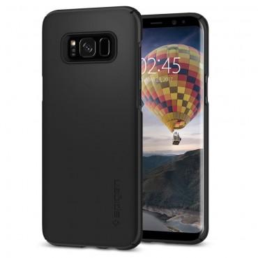 """Spigen """"Thin Fit"""" védőtok Samsung Galaxy S8 Plus készülékhez – black"""