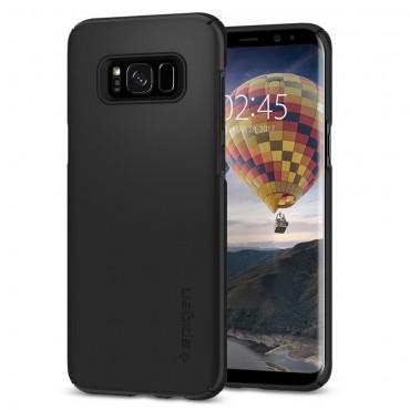 """Tok Spigen """"Thin Fit"""" Samsung Galaxy S8 készülékekhez - black"""