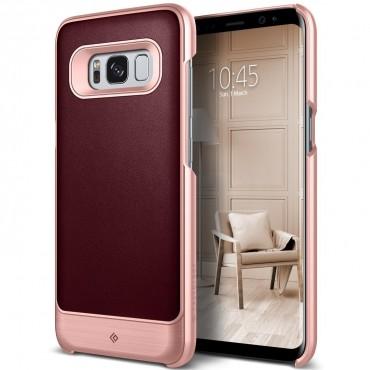 Caseology Fairmont Series védőtok Samsung Galaxy S8 készülékekhez – cherry oak