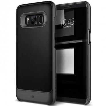 Caseology Fairmont Series védőtok Samsung Galaxy S8 Plus készülékekhez – fekete