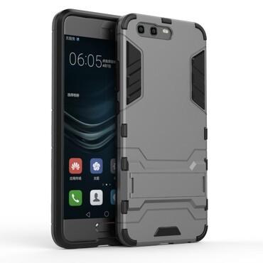 """Strapabíró """"Impact X"""" védőtok Huawei P10 készülékekhez – szürke"""
