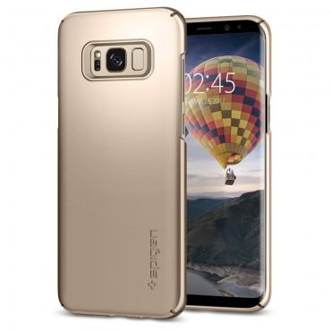 """Spigen """"Thin Fit"""" védőtok Samsung Galaxy S8 készülékhez – gold maple"""