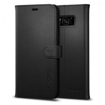 """Spigen """"Wallet S"""" tárca Samsung Galaxy S8 készülékekhez – fekete"""
