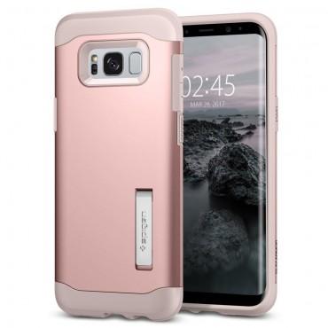 """Spigen """"Slim Armor"""" védőtok Samsung Galaxy S8 Plus készülékekhez – rose gold"""
