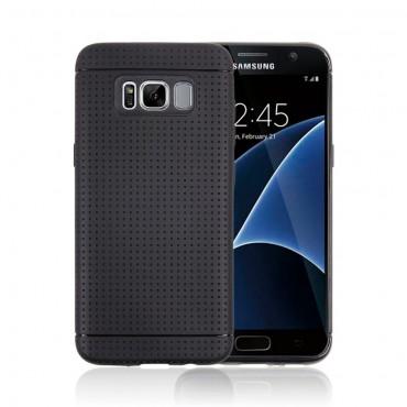 """TPU gél tok """"Dream"""" Samsung Galaxy S8 készülékekhez - fekete"""