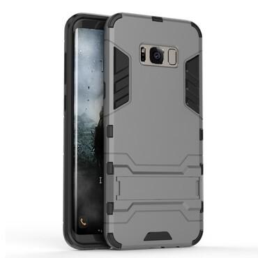 """Strapabíró """"Impact X"""" védőtok Samsung Galaxy S8 készülékekhez – szürke"""