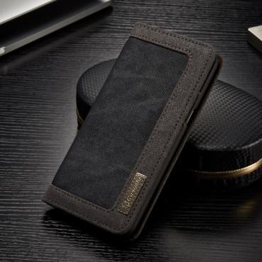 Business prémium tárca Samsung Galaxy S8 készülékekhez – fekete