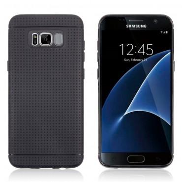 TPU gél tok Samsung Galaxy S8 Plus készülékekhez - fekete