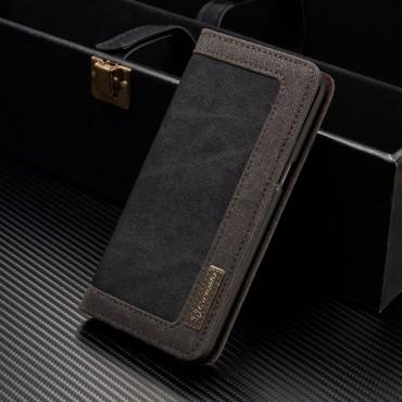 """Prémium nyitható tok """"Business"""" Samsung Galaxy S8 Plus készülékekhez - fekete"""