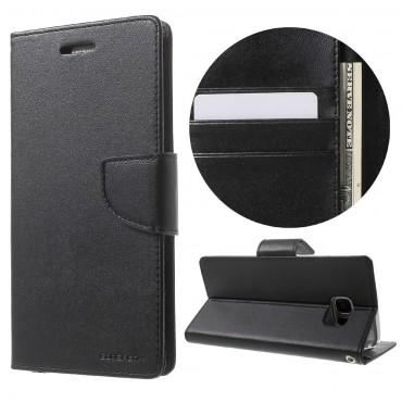 Goospery Bravo Diary tárca Samsung Galaxy S8 készülékekhez – fekete