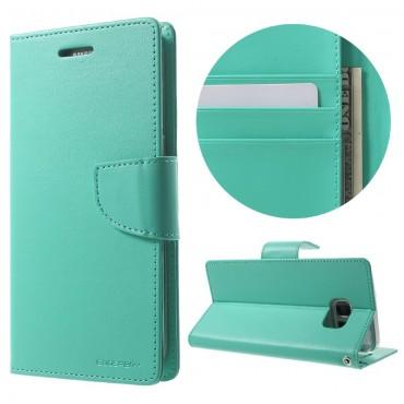 Goospery Bravo Diary tárca Samsung Galaxy S8 Plus készülékekhez – menta