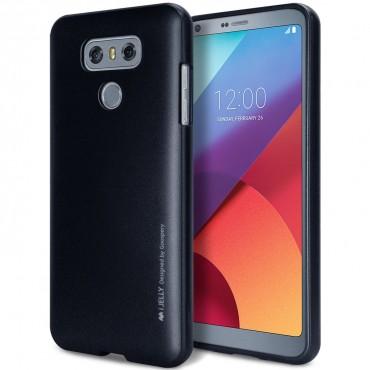 Goospery iJelly Case TPU géles védőtok LG G6 készülékekhez – fekete