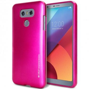 Goospery iJelly Case TPU géles védőtok LG G6 készülékekhez – magenta
