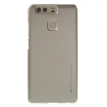 Goospery iJelly Case TPU géles védőtok Huawei P10 készülékekhez – aranyszínű