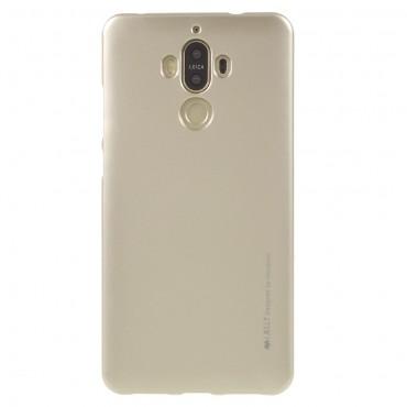 Goospery iJelly Case TPU géles védőtok Huawei Mate 9 készülékekhez – aranyszínű