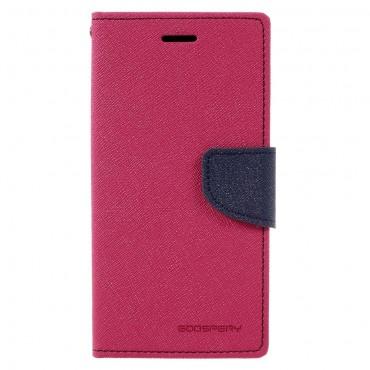 Goospery Fancy Diary tárca Samsung Galaxy A3 2017 készülékekhez – magenta