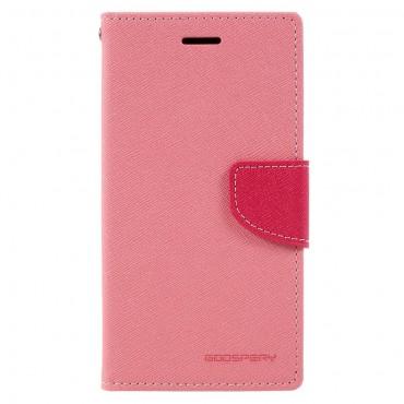 Goospery Fancy Diary tárca Samsung Galaxy A5 2017 készülékekhez – rózsaszín
