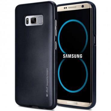Goospery iJelly Case TPU géles védőtok Samsung Galaxy S8 Plus készülékekhez – fekete