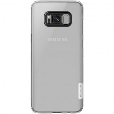 """Vékony """"Nature"""" prémium védőtok Samsung Galaxy S8 készülékekhez - átlátszó"""
