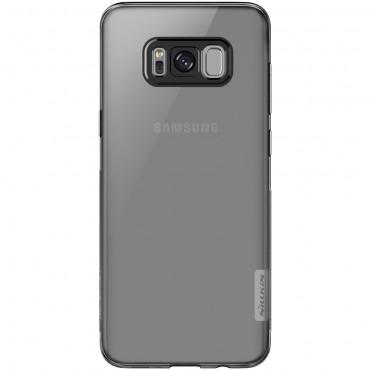 """Vékony """"Nature"""" prémium védőtok Samsung Galaxy S8 készülékekhez – szürke"""