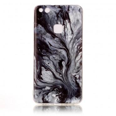Marble divatos védőtok Huawei P10 Lite készülékekhez – szürke