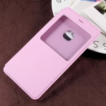"""Divatos """"Single View"""" tárca Huawei P10 Lite készülékekhez – rózsaszín"""